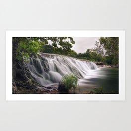 Waterfall at Bull Creek Art Print