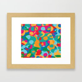 Jelly Bean Splat! Framed Art Print