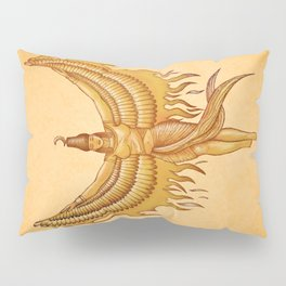 Isis, Goddess Egypt with wings of the legendary bird Phoenix Pillow Sham