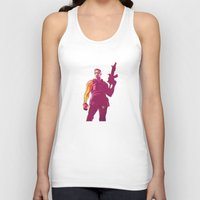 winter soldier Tank Tops featuring Winter Soldier by Simon Alenius