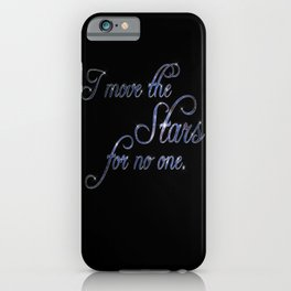Move The Stars iPhone Case