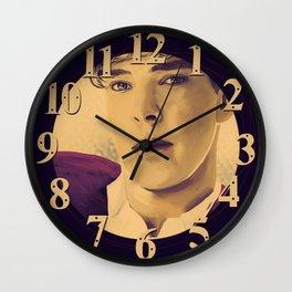 I AM BENlocked Wall Clock
