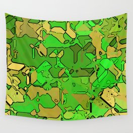 Abstract segmented 2 Wall Tapestry