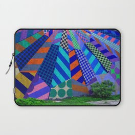 The Patterns on the Wall Laptop Sleeve