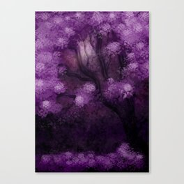 A night in Japan (Una notte in Giappone) Canvas Print