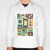 risa rodil Hoodies featuring Empty Hearse by Risa Rodil