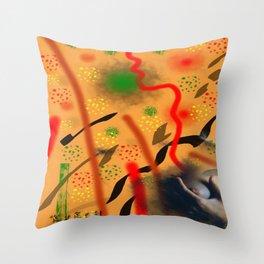 Homage to Balzac n.5 Throw Pillow