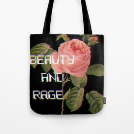 Beauty And Rage Tote Bag