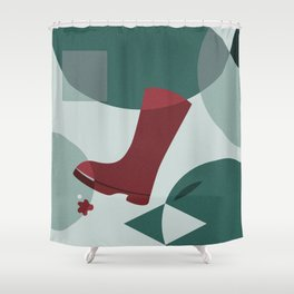 The Boot Shower Curtain