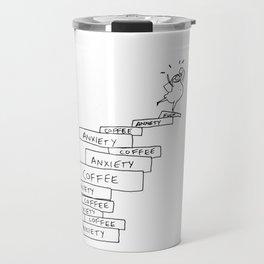 anxiety tower Travel Mug