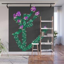 Flowering Cactus Wall Mural
