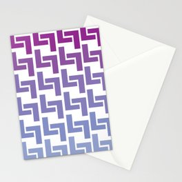Monochromatic Purple L7 Stationery Cards