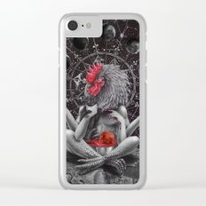 Moon phase celebration Clear iPhone Case