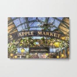 The Apple Market Covent Garden London Art Metal Print