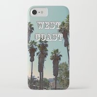 west coast iPhone & iPod Cases featuring West Coast by Romeo & Rebeccah