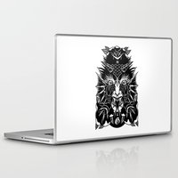 demon Laptop & iPad Skins featuring Demon by MIRKOW GASTOW