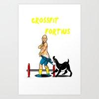 jesse&kilo crossfit fortius Art Print
