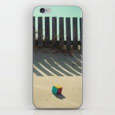 Rubik shading in the beach iPhone & iPod Skin