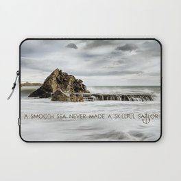 A Smooth Sea Laptop Sleeve