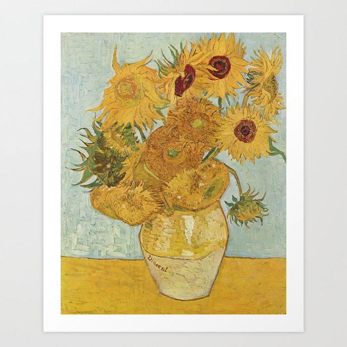 Van Gogh Sunflowers Kunstdrucke
