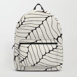 Organic Abstract Natural Cells Backpack