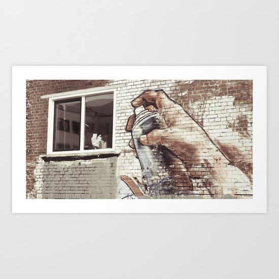 Graffity 3 Art Print