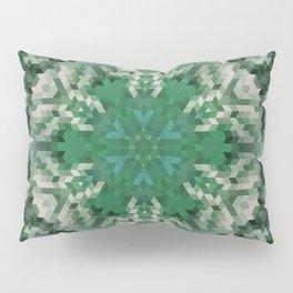 Green mandala  2 Pillow Sham