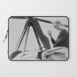 Amelia Earhart Laptop Sleeve