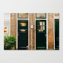 Nieuwmarkt - Amsterdam, The Netherlands -#2 Canvas Print