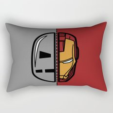 Old & New Iron Man Rectangular Pillow