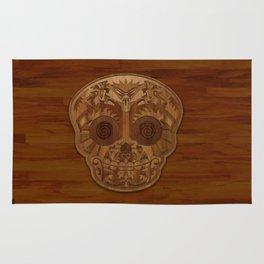 Wooden Sugar Skull Rug