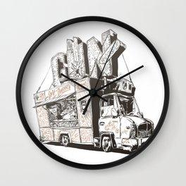 Shopping Truck Wall Clock