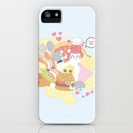Kawaii Food iPhone Case
