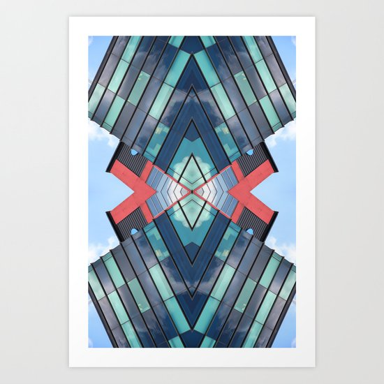 DQU 0812 (Symmetry Series III) Art Print