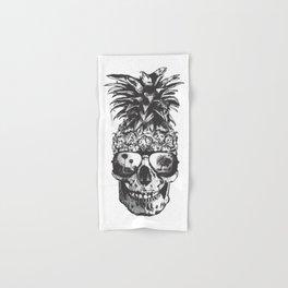 Pineapple Skull Head Hand & Bath Towel