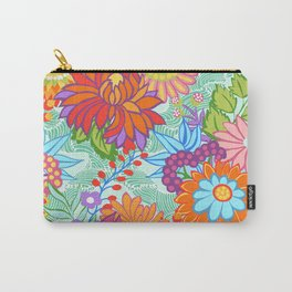 Jubilee Blooms Carry-All Pouch