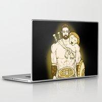 hercules Laptop & iPad Skins featuring Hercules by wyguy5