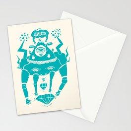 Triangle Head I Stationery Cards