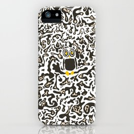 Hidden owl iPhone Case