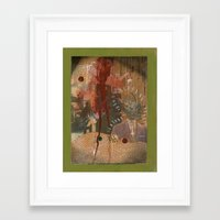 "pigs Framed Art Prints featuring ""Pigs"" by Terrance Regan"