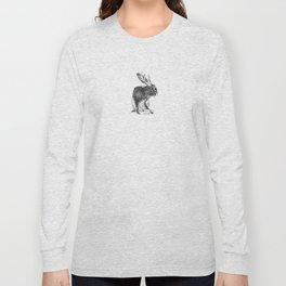 Japanese jackalope Long Sleeve T-shirt
