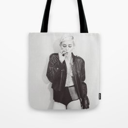 Miley Cyrus Shirt Tote Bag