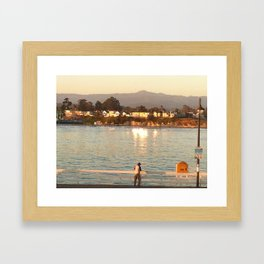 Life Is So Lonely Framed Art Print