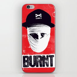 BURNT iPhone Skin