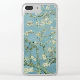 Almond Blossoms Clear iPhone Case