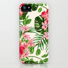 VINTAGE FLOWERS iPhone Case