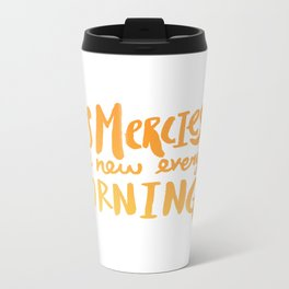 Mercy Morning Sunrise Metal Travel Mug
