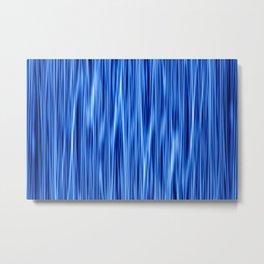 Ambient 8 in blue Metal Print