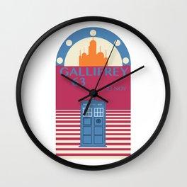Gallifrey 1963 Wall Clock