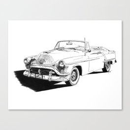52 Olds Super 88 Canvas Print